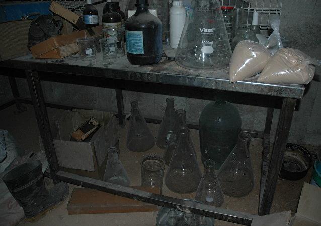 敘軍方在薩拉基布市發現被恐怖分子用來挑釁的化學物質