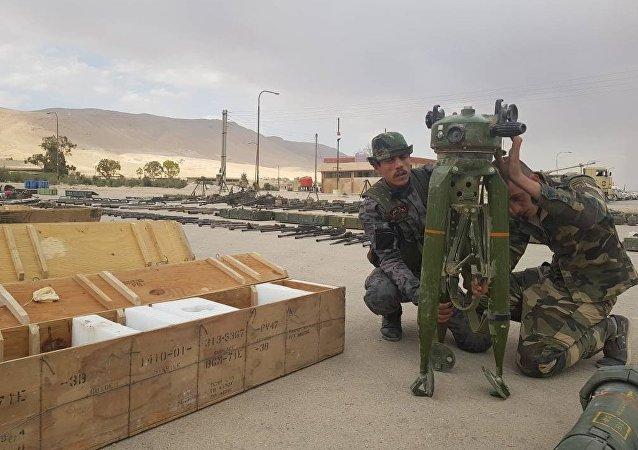 恐怖分子的火藥庫落入敘利亞政府軍手中