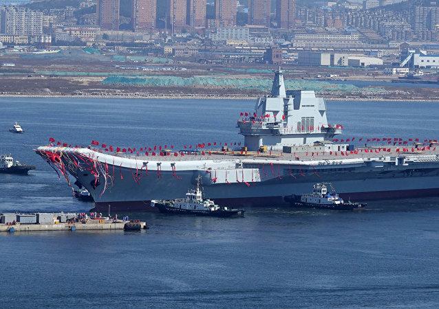 中國國產首艘001A型航母