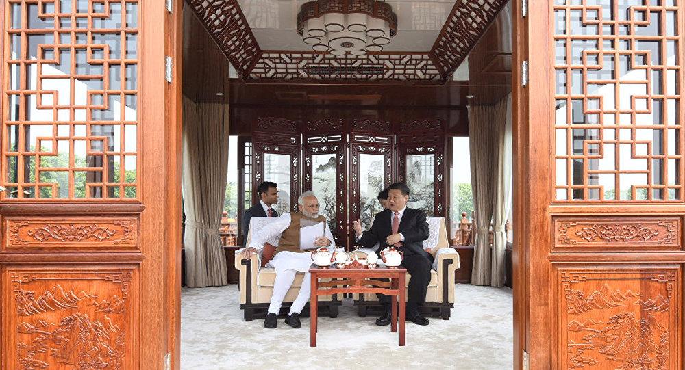 中印武漢會晤證明雙方有意鞏固互信