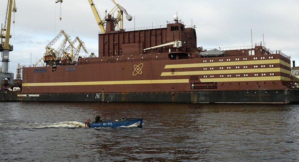俄首座浮動核電站測試工作擬於2019年3月完成
