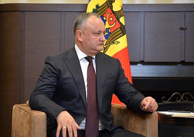 摩爾多瓦總統伊戈爾·多東