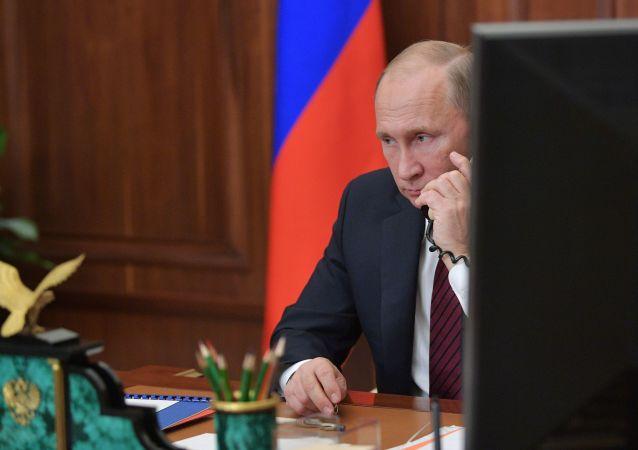 克宮:普京與馬克龍通電就伊朗、敘利亞以及烏克蘭局勢進行討論