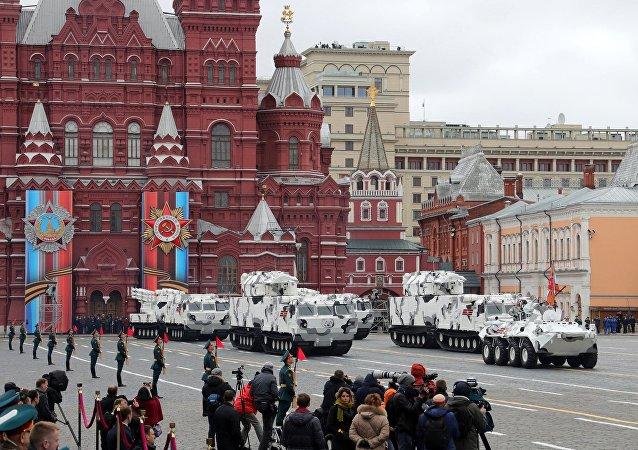 普京責令聯邦安全局在偉大衛國戰爭勝利75週年慶祝活動時確保最高級別防控