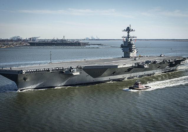 美國史上造價最高航空母艦「傑拉爾德·R·福特」號
