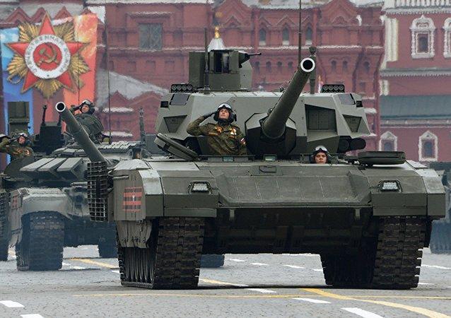 用於「阿瑪塔」坦克和其它坦克的履帶是如何製造出來的?(視頻)