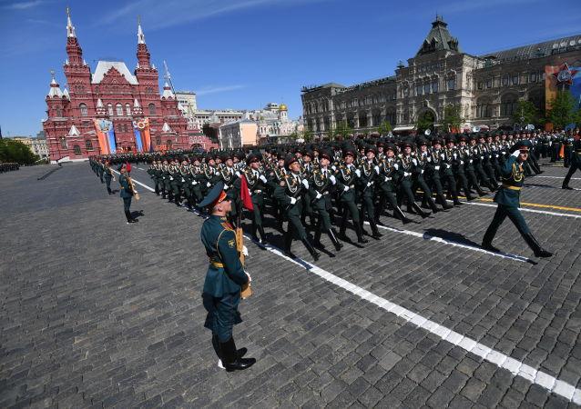 尚未作出因新冠疫情推遲莫斯科勝利日閱兵的決定