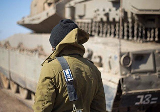 以軍:以色列向以敘邊境地區增派坦克和炮兵