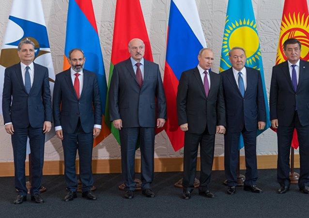 歐亞經濟委員會最高理事會會議