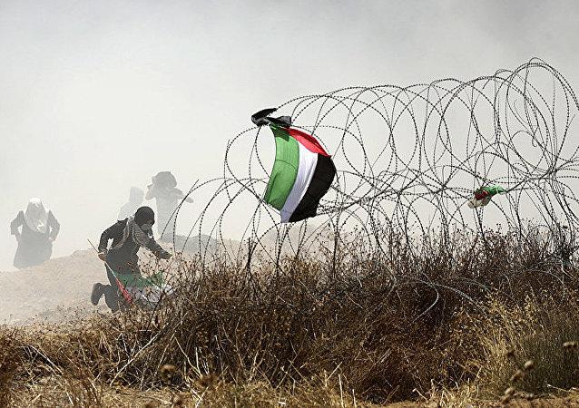 巴以衝突已致59巴勒斯坦人死亡