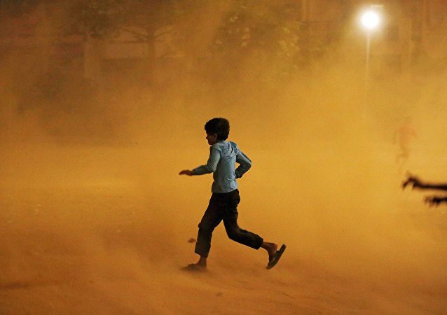 印度沙塵暴和雷暴一個月來致278人死亡
