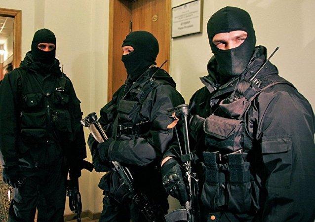 Сотрудники СБУ Украины