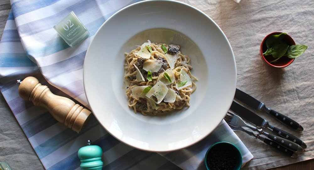 《穆卡》餐廳還有幾種意大利面:經典口味和秘制口味