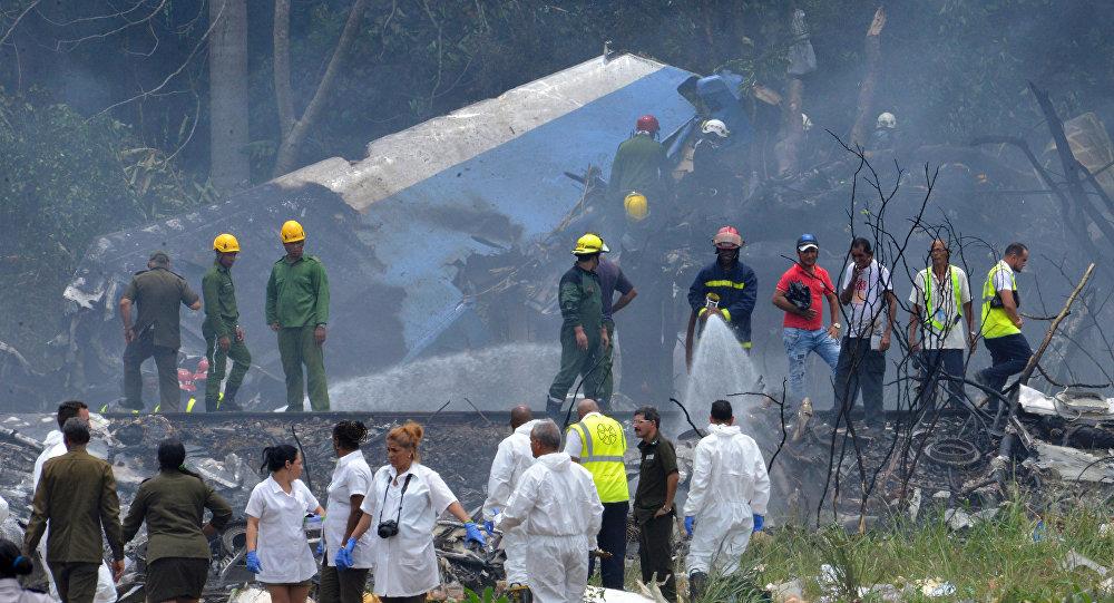 古巴失事客機試圖返回機場時撞上電線