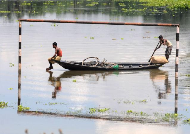 印度 , 洪水