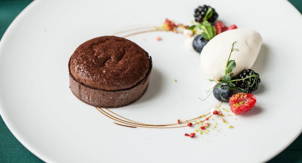 小巧克力蛋撻