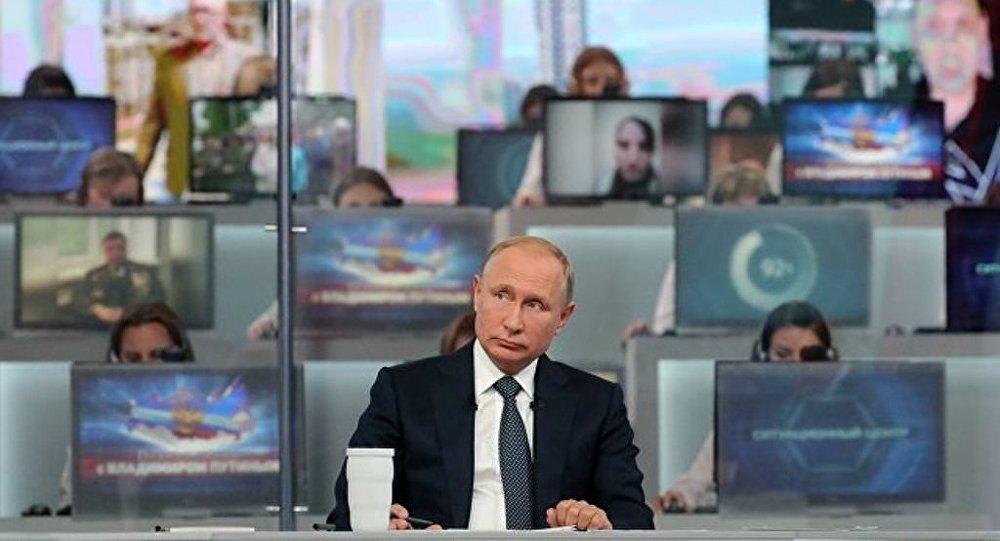 多數俄羅斯人認為與普京的「直播連線」必要又有趣