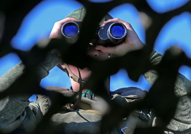 俄軍已經抵達印度參加偵察兵比賽