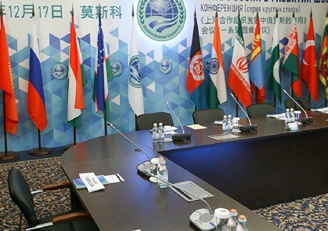 上海合作組織成員國國旗