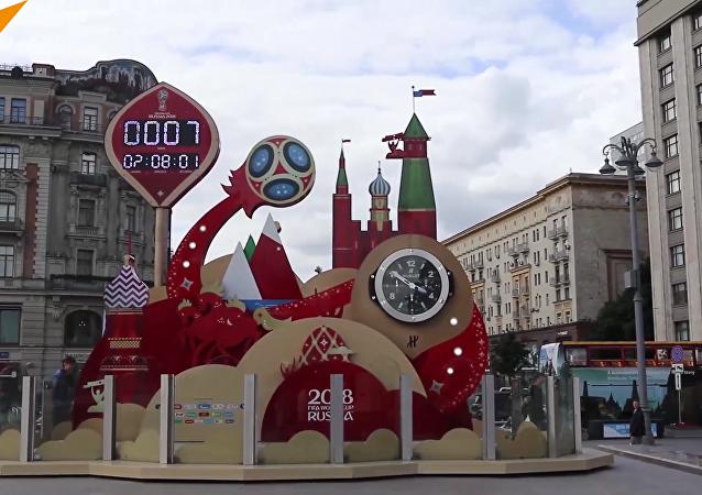 莫斯科洋溢著「世界杯」氣息