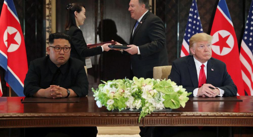 專家:朝美在棄核問題上可能有更深入的路線圖