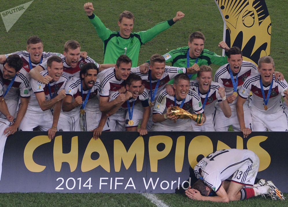 歷屆世界杯冠軍隊