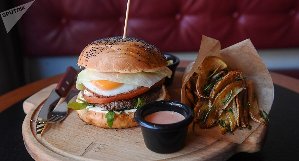 「Byuro」漢堡