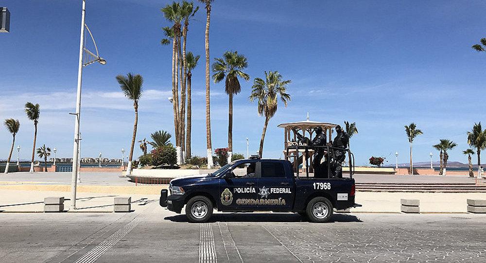 墨西哥警車