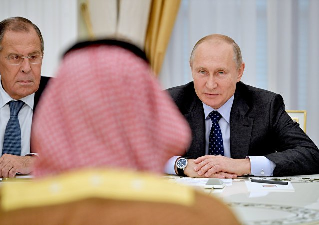 普京與沙特王儲