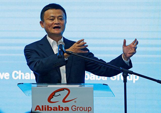 阿里巴巴創始人馬雲成為亞洲首富