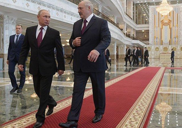普京談其與白俄羅斯總統的面對面會談