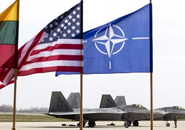 北約空軍「拉姆施泰因聯合」演習在波羅的海國家上空拉開帷幕