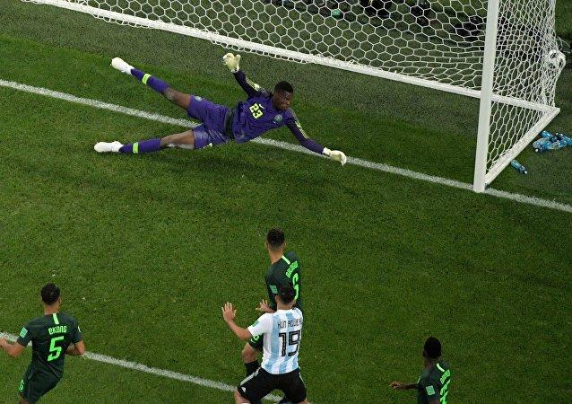 阿根廷隊勝尼日利亞隊小組出線