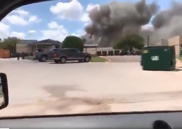 科里爾紀念醫院(Coryell Memorial Hospital)爆炸