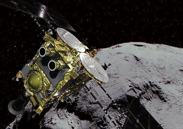 探測器隼鳥2號開始向小行星「龍宮」下降