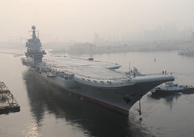 美國情報部門獲得了中國首艘航母的秘密?