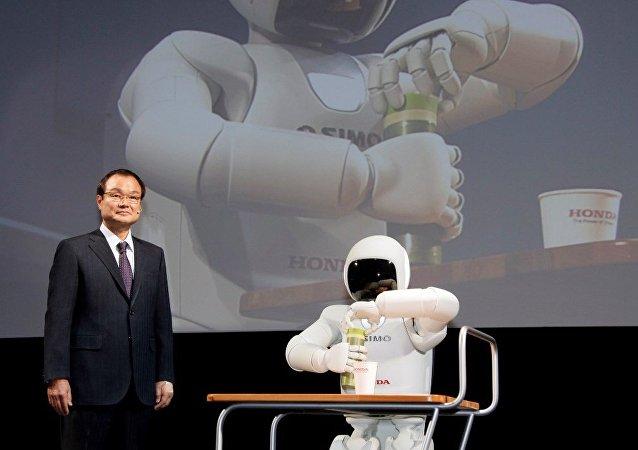 日本本田公司停止機器人Asimo的研制和生產