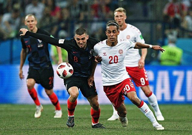 克羅地亞點球大戰戰勝丹麥挺進8強