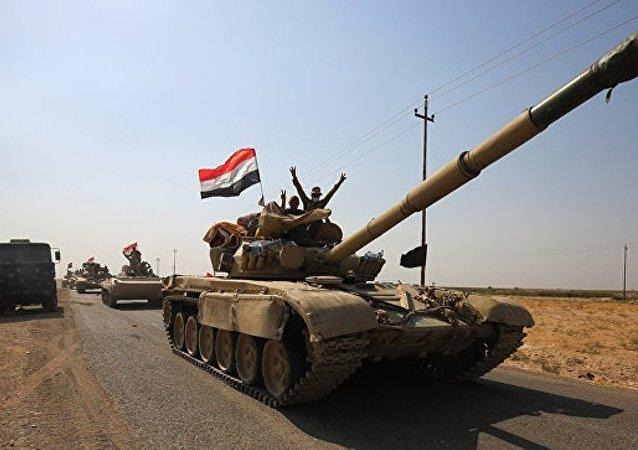 伊拉克安全部隊消滅一支14名武裝分子的IS分支機構