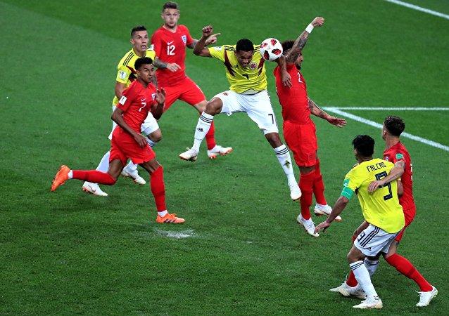 英格蘭隊點球戰勝哥倫比亞隊 進入世界杯1/4決賽