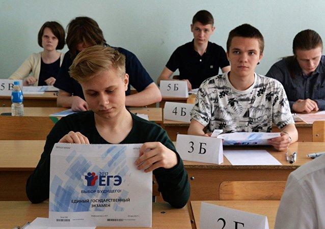 俄羅斯一考生高考4門科目全部滿分