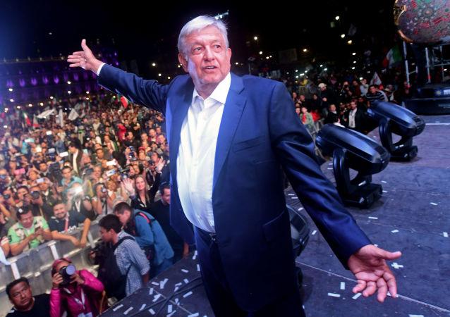 墨西哥總統洛佩斯•奧夫拉多爾
