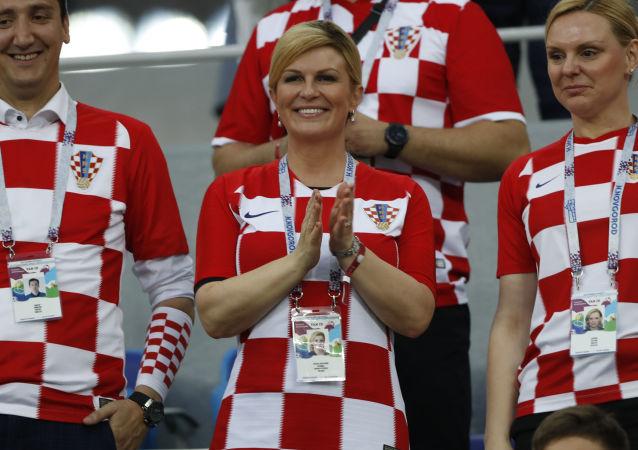 克羅地亞總統將在索契世界杯比賽期間會見俄總理