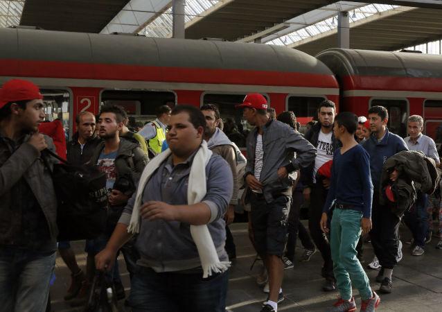 來到德國敘利亞難民