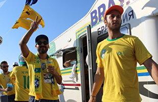 巴西房車將喀山變成了里約熱內盧