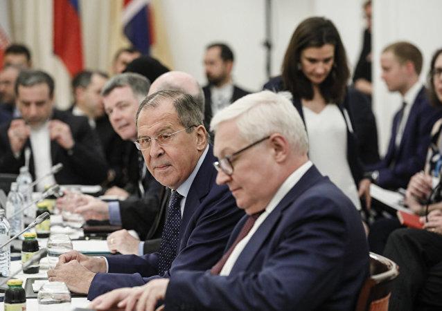俄羅斯外交部長謝爾蓋·拉夫羅夫