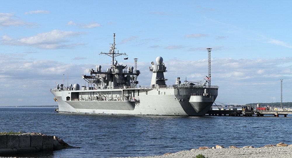 美國海軍艦艇進入黑海