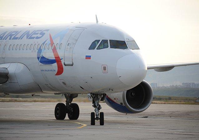 「烏拉爾航空」繼「俄羅斯航空」之後暫停捷克航線
