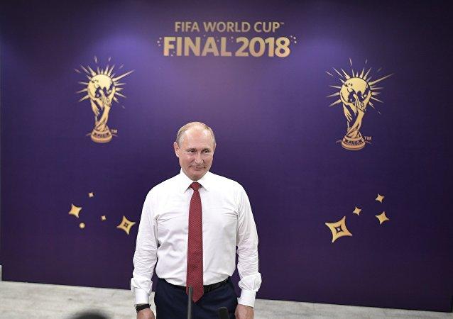普京:俄羅斯的體育事業正處於上升階段