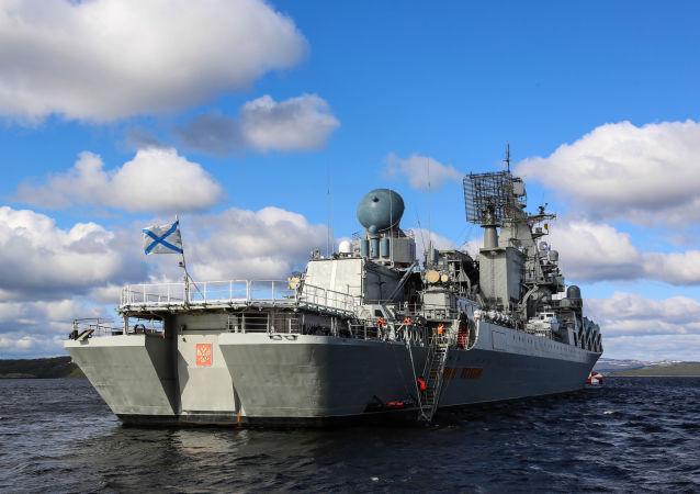 俄海軍「烏斯季諾夫元帥」號導彈巡洋艦